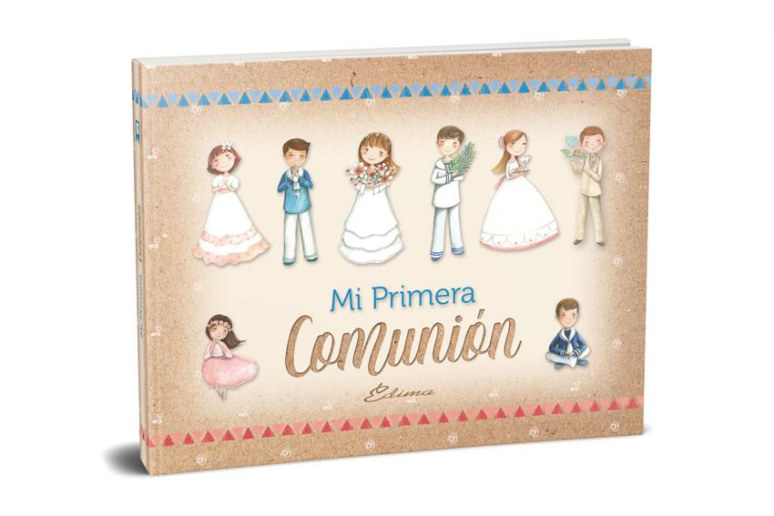 Catálogo de Comunión Edima, Libros de Firmas, Album de Recuerdos, Recordatorios, Puntos de Lectura y Detalles de Primera Comunión